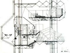 ARCHIGRAM_ARQUITECTURA mutante megaestructuras peter cook años 50 60 experimental modular #architecture