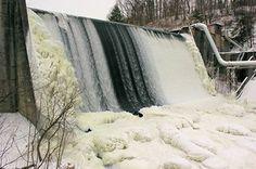 Ohio Edison Dam at Gorge Metro Park (Photo by volunteer Jeff Hill)