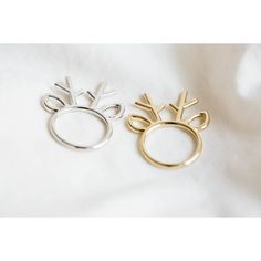 reindeer horn ring ,jewelry ,ring,animal ring, whimsical ring,animal jewelry,gift for your Valentine,teen ring,unisex ring,cute ring,R263N