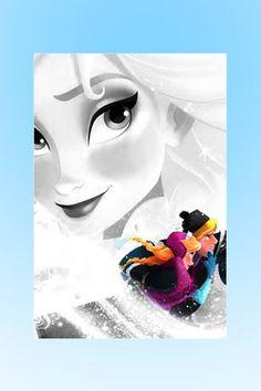*ELSA (The Snow Queen) & KRISTOFF ~ Frozen, 2013
