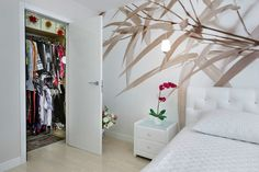 Természetes motívummal - Hálószoba ötletek - dekoráció, színek, hangulat