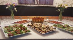 Healthy buffet at 6th St. Gastro Pub! Feast fit for the 2017 Merchant Mingle