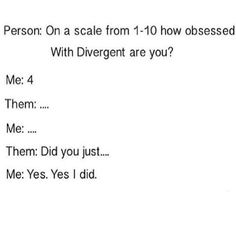 Divergent Joke Only True Divergent Fans Will Understand Divergent Jokes, Divergent Hunger Games, Divergent Fandom, Divergent Trilogy, Divergent Insurgent Allegiant, Insurgent Quotes, Book Memes, Book Quotes, Tris And Four