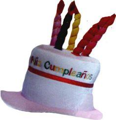 Sombrero tarta feliz cumpleaños | TODO FIESTA