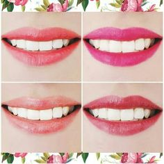 These are lovely chooses in lip the colour for spring and summer...