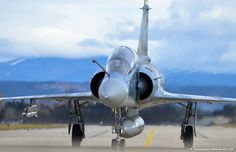 """French Armée de l'Air Dassault Mirage 2000C, of Fighter Squadron (EC) 2/5 """"Ile de France"""" - photo T.Champetier Air Force"""