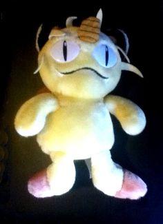 "Pokemon MEOWTH Plush  6"" Meowth Pokemon 6"" Plush Hasbro Nintendo! GR8 Gift! #Jakks"