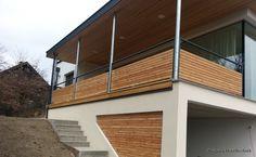 Alu-Holz Balkone