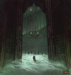 ArtStation - The gates of the dead, Robert Rejmak