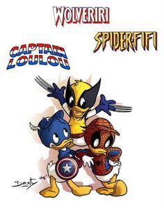 Super Punch: More Disney/Marvel mashups