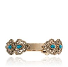 LET'S GET LOST BANGLE - TURQUOISE