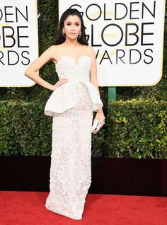 Praya Lundberg - Every Best Dressed Look from the 2017 Golden Globes - Photos