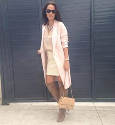 Ready for spring! Casual Chic, Duster Coat, Street Style, Pink, Jackets, Minimalism, Trends, Fashion, Casual Dressy