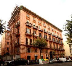Our work in progress: maintenance in Via Scarlatti 67, Naples / www.graphitearchitecture.com