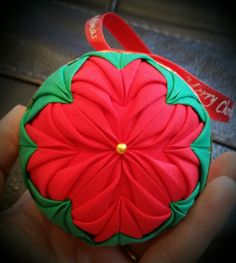 Free hand folded ornament soon to be listed on roosterranchmt.com