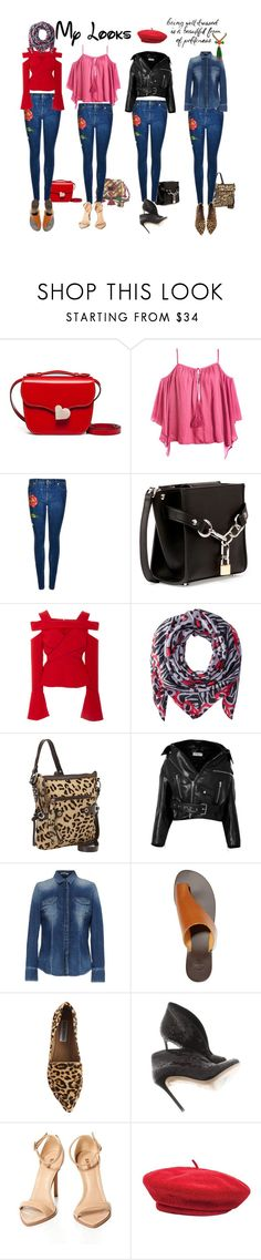 """""""Politeness"""" by sweetsmellofsuccess ❤ liked on Polyvore featuring Marni, Sans Souci, Gucci, Alexander Wang, Bibhu Mohapatra, Bindya, Scully, Balenciaga, GAS Jeans and ATP Atelier"""