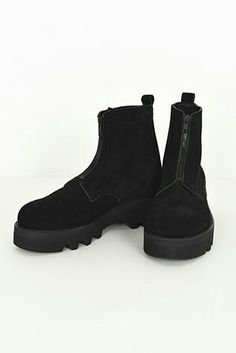LAD MUSICIAN || Suede Combat Boots