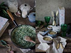 receta de espinacas a la crema