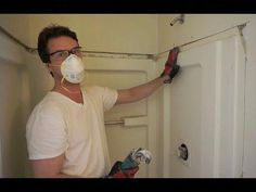 How to Remove a Shower Stall Small Bathroom With Shower, Small Showers, Master Shower, Bathroom Showers, Boho Bathroom, Master Bath, Master Bedroom, Bathrooms, Shower Wall Panels