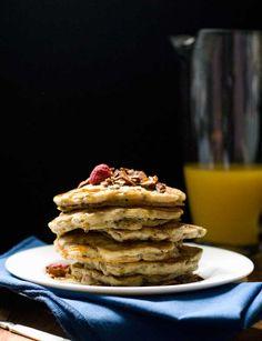 Gluten Free Granola Pancakes - Dairy & Refined Sugar Free