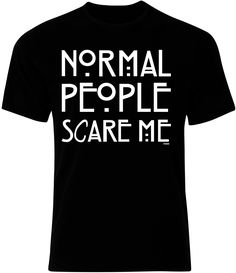 Normal People Scare Me Mens Ryware T-Shirt only £5.00 at Ryware!