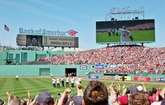 Behind the Scenes at Fenway Park's 100th Anniversary Celebration