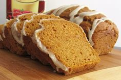Pumpkin Nog Bread.   Dairy-free / non-dairy, egg-free, nut-free, peanut-free, soy-free, vegan and vegetarian, but still moist, tender, cohesive and delicious.
