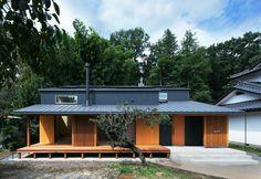 スキップフロアで繋がる家: かんばら設計室が手掛けたオリジナル家です。