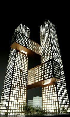 Torres Cross Towers. Localización: SEUL