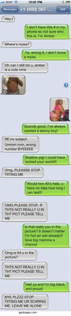 Hilarious Text vs. Wrong Number LOL