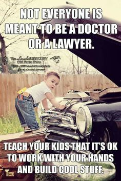 I emphasize this to my kids. What doeks everyone think. Wisdom Quotes, True Quotes, Great Quotes, Motivational Quotes, Funny Quotes, Inspirational Quotes, Mechanic Humor, Mechanic Garage, Badass Quotes