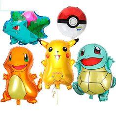 POKEMON Pikachu /& Friends Disney Birthday Party Supply SUPER Kit w//32 Plts /& Nap