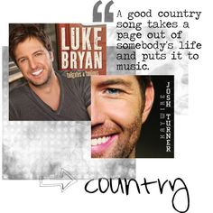 love me some country music :)
