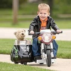 Biker in training!