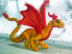 Yellow and Red Dragon