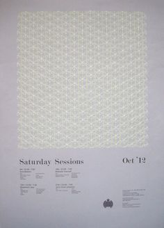 The Saturday Sessions - Ministry of Sound by Cat Hamilton