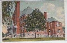 Bristol Connecticut CT Postcard 1907-1915 High School