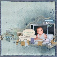 June | 2014 | Carta Bella 'Baby Mine – Boy' collection