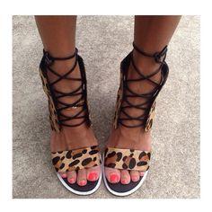 Senso shoes. Leopard print.