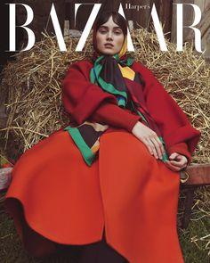 Harper's Bazaar Czech November 2017 Kinga and Aliza by Andreas Ortner - Fashion Editorials