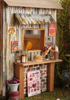 Miniatura tiempo Dollhouse de COCO -  placa de onda hecha jirones - Imagen 2