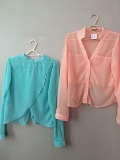 Cada blusa por R$ 69,99
