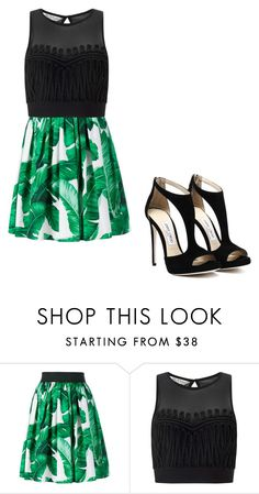 """""""Untitled #24"""" by is-maul on Polyvore featuring beauty, Dolce&Gabbana and Miss Selfridge"""