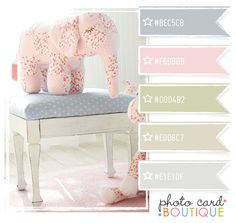 Color Crush Palette · 3.11.2012...love the elephant & the stool