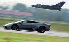 2008 Lamborghini Reventon - Takes on a Tornado