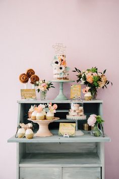 Read More on SMP: http://www.stylemepretty.com/living/2016/05/25/this-baby-shower-puts-the-cutest-twist-on-the-phrase-bun-in-the-oven/