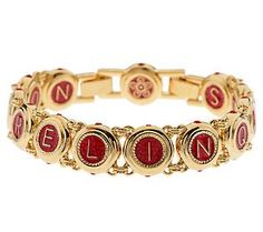 """Jacqueline Kennedy Castellani Wedding Bracelet $89 NON RELINQUAM means, """"I will never give up on you."""" NON RELINQUES means, """"You will never give up on me."""""""