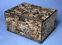 The Bowes Museum: Needlework Box ca 1650