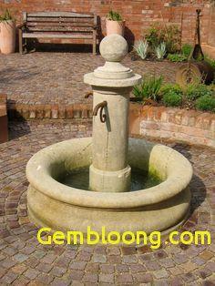 28+ Fabricant fontaine de jardin trends