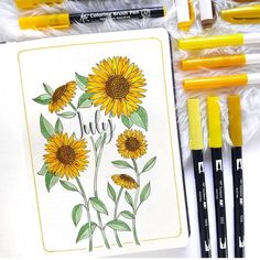 5pc Mezclados adornos grandes de gasa flores de tela para Hair Clips Artesanía hágalo usted mismo